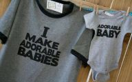 Funny Baby Onesies 5 Background Wallpaper