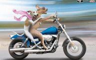 Funny Cartoon Dog 14 Background
