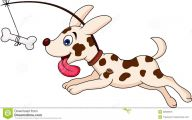Funny Cartoon Dog 19 Background Wallpaper