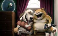 Funny Cartoon Dog 20 High Resolution Wallpaper