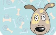 Funny Cartoon Dog 21 Wide Wallpaper