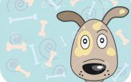 Funny Cartoon Dog 21 Wide Wallpaper