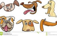 Funny Cartoon Dog 31 Widescreen Wallpaper