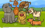 Funny Cartoon Dog 67 Wide Wallpaper