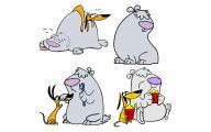 Funny Cartoon Dog Pictures 1 Cool Wallpaper