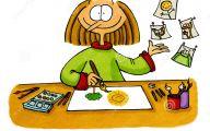 Funny Cartoon Drawings 28 Widescreen Wallpaper