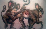 Funny Cartoon Tattoo Drawings 4 Widescreen Wallpaper