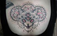 Funny Cat Tattoo 19 Widescreen Wallpaper