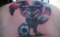 Funny Cat Tattoo 54 Wide Wallpaper
