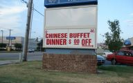 Funny Chinese Restaurant Signs 1 Free Wallpaper