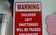 Funny Sign 370 Free Wallpaper