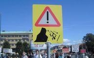 Funny Street Signs 13 Background Wallpaper