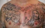 Funny Tattoo Cartoons 11 High Resolution Wallpaper
