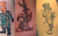 Funny Tattoo Cartoons 26 Free Wallpaper