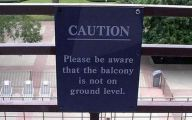 Funny Warning Signs 13 Desktop Background