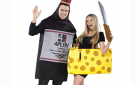 Couples Funny Costumes 15 Wide Wallpaper