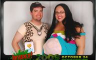 Couples Funny Costumes 16 Background Wallpaper