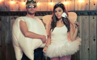 Couples Funny Costumes 26 Background Wallpaper