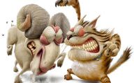 Funny Animals Animation 16 Free Wallpaper