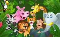 Funny Animated Animals 10 Widescreen Wallpaper