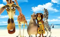 Funny Animated Animals 4 Desktop Background