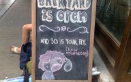 Funny Bar Chalkboard Signs 14 Cool Wallpaper