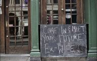 Funny Bar Chalkboard Signs 9 Widescreen Wallpaper
