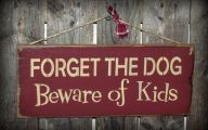 Funny Beware Of Dog Signs 13 Widescreen Wallpaper