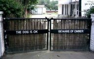 Funny Beware Of Dog Signs 6 Desktop Background