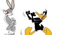 Funny Bugs Bunny Cartoon 3 Background