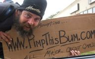Funny Bum Signs 9 Wide Wallpaper