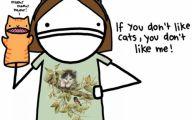 Funny Cartoon Cat 2 Free Hd Wallpaper