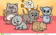 Funny Cartoon Cats 10 High Resolution Wallpaper