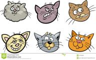 Funny Cartoon Cats 3 Wide Wallpaper