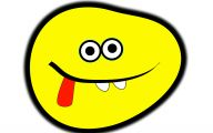 Funny Cartoon Faces 25 Desktop Wallpaper