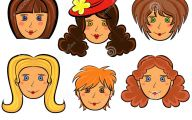 Funny Cartoon Faces 29 Background