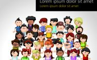 Funny Cartoon People 14 Wide Wallpaper