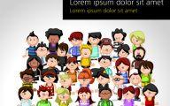 Funny Cartoon People 14 Wide Wallpaper