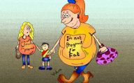 Funny Cartoon People 18 Background Wallpaper
