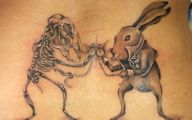 Funny Cartoon Tattoos 16 Background