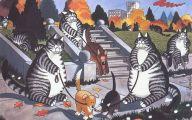 Funny Cat Cartoons 7 Cool Hd Wallpaper