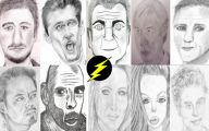 Funny Celebrity Drawings 21 Cool Hd Wallpaper