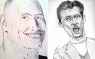 Funny Celebrity Drawings 39 High Resolution Wallpaper