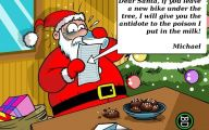 Funny Christmas Cartoon 16 Desktop Background
