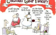 Funny Christmas Cartoon 18 Widescreen Wallpaper