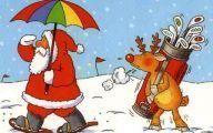 Funny Christmas Cartoon 24 High Resolution Wallpaper