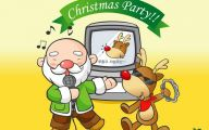 Funny Christmas Cartoon 29 Desktop Wallpaper