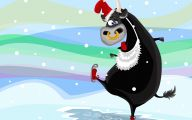 Funny Christmas Cartoon 3 Cool Hd Wallpaper