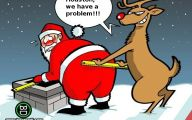 Funny Christmas Cartoon 37 Free Wallpaper