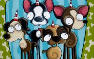 Funny Dog Art 17 Desktop Wallpaper